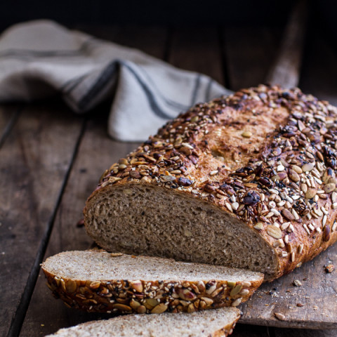 Seeded Whole Grain Breakfast Bread