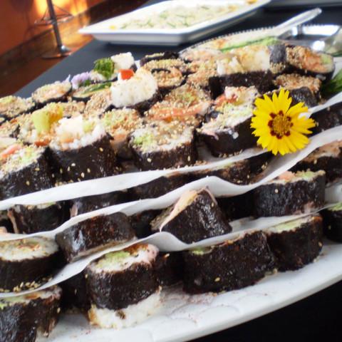 Sesame Crusted Ahi Tuna and Wasabi Beurre Blanc