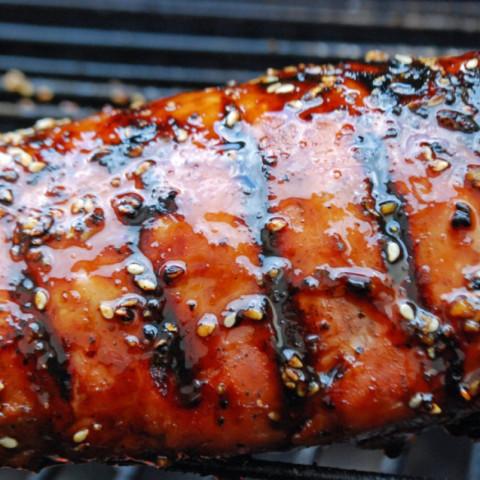 Sesame Pork Tenderloin