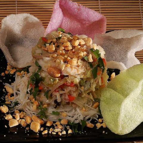 Shredded Cabbage & Chicken Salad (ga Xe Phai)