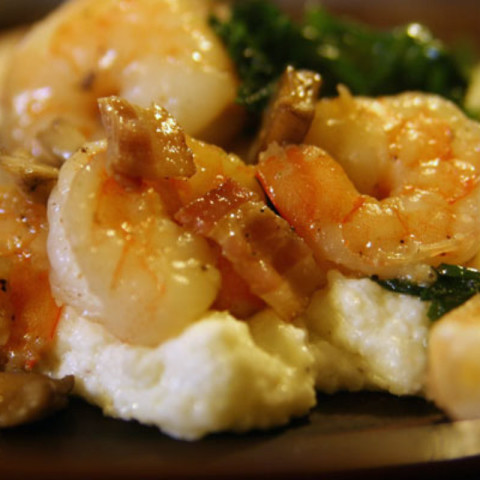 """Shrimp and """"Grits"""""""