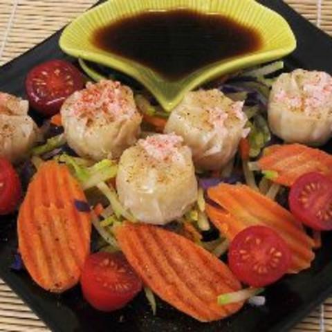 Shrimp and Vegetable Steamed Dumplings
