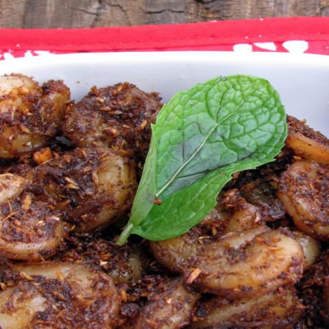 Shrimp Chettinad-Shrimp Sukka