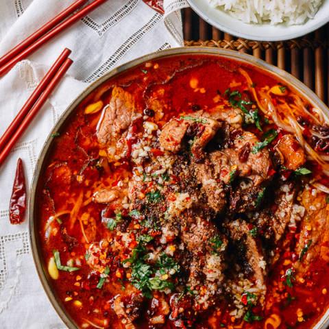 Sichuan Boiled Beef (Shuizhu Niurou)