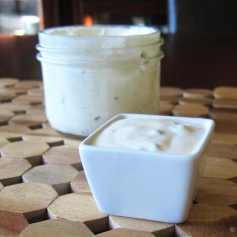 Simple Creamy Salad Dressing