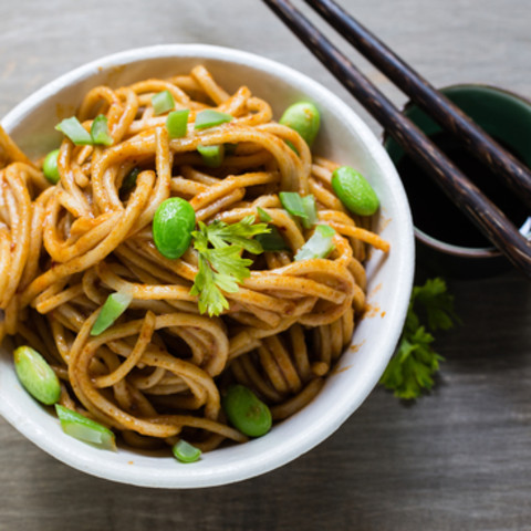 Simple Sesame Noodles