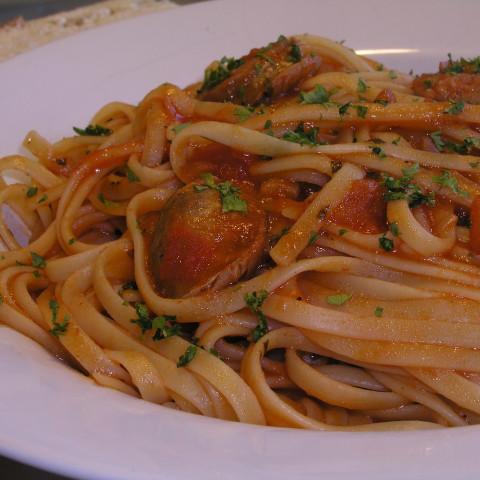 Simple Tomato and Basil sauce