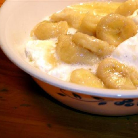 Slow Cooker Banana Foster