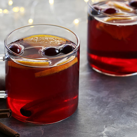 Slow-Cooker Cranberry Hot Toddy