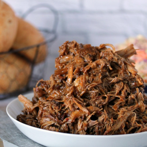 Slow Cooker Pulled Pork Sandwiches with Zesty Slaw