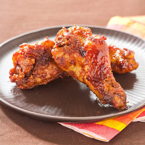 Slow-Cooker Sticky Wings