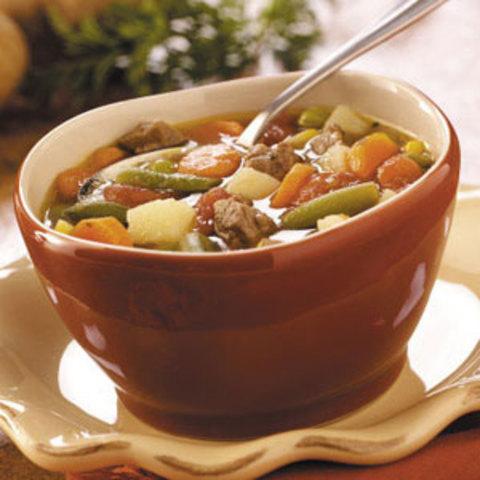 Slow-Cooker Vegetable Soup Recipe