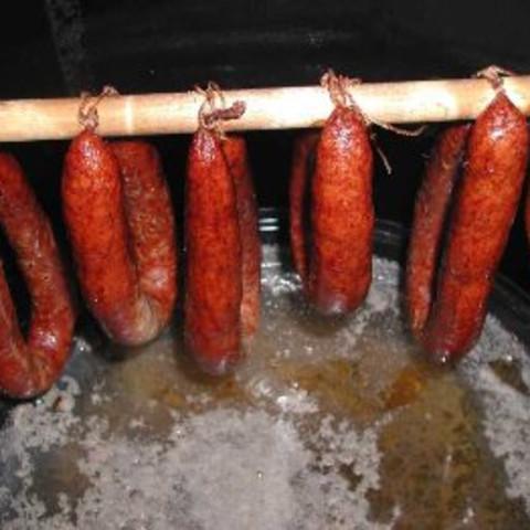 Smoked Venison (Elk) Polish Sausage