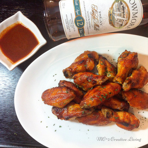 Smoky Whisky Chicken Wings