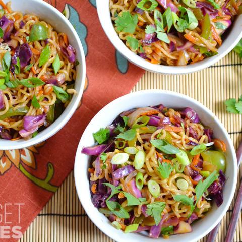 SNAP Challenge: Vegetable Stir Fry with Noodles