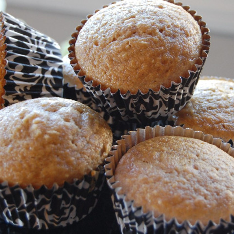 Soaked Banana and Coconut muffins