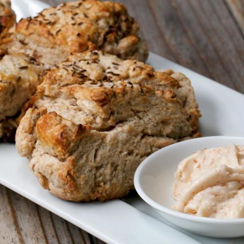Soda Bread Scones With Irish Whiskey Butter Recipe by Tasty