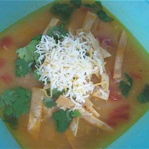 Soup- Ojai Valley Inn Tortilla Soup