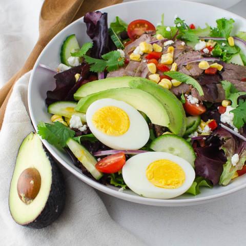 Southwestern Steak Salad