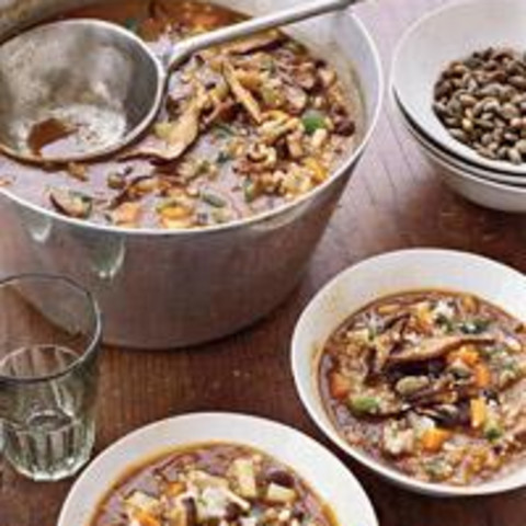 Spicy Grain Soup