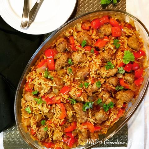 Spicy Italian Sausage Casserole