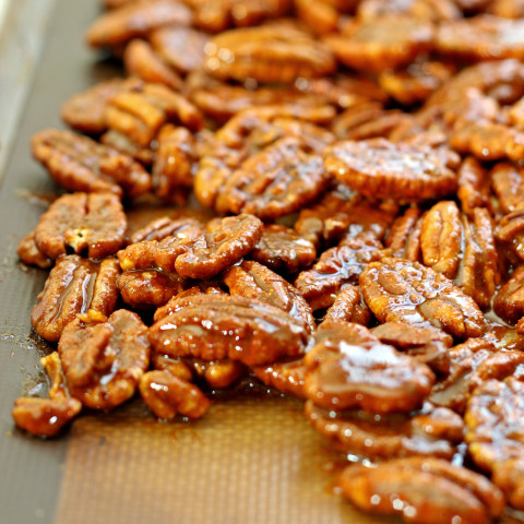 Spicy Pecan Snack