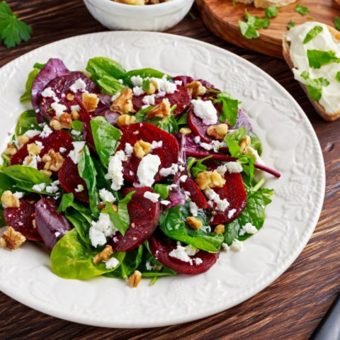 Spinach & Beet Salad - 3 Smart Points