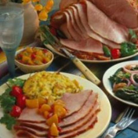 Spiral-Sliced Ham with Pepper Jelly Glaze