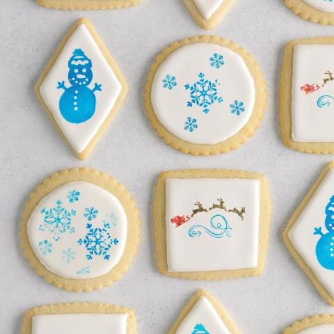 Stamped Cutout Cookies
