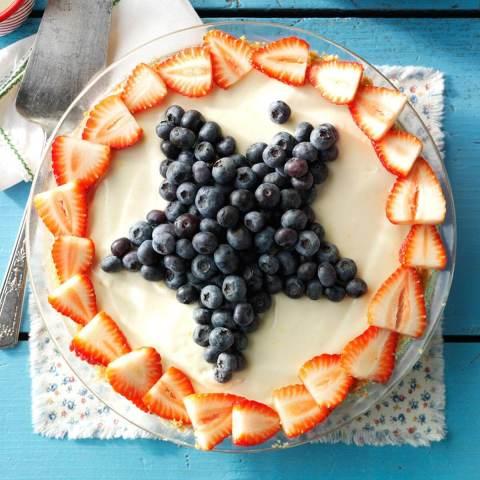 Star-Spangled Lemon Icebox Pie