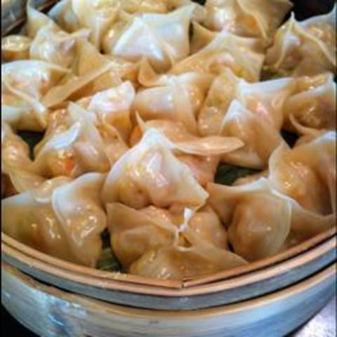 Starter: Shrimp Dumplings