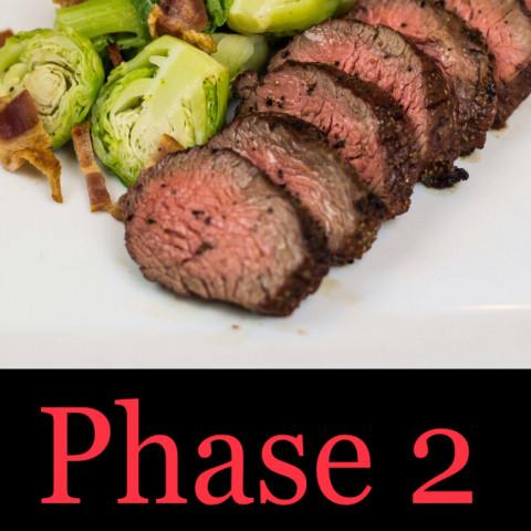 P2 Steak Spinach Salad (MAX)