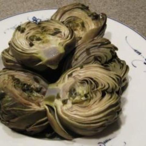 Steamed Artichokes