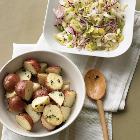 Steamed Potatoes with Thyme
