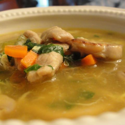 Stir-fried Pork Soup (5)