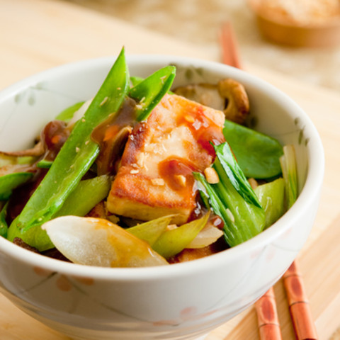 Stir-Fried Tofu And Fennel