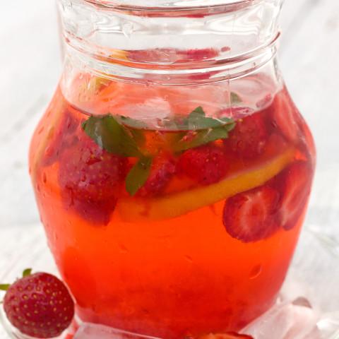 Strawberry-Lemon Punch