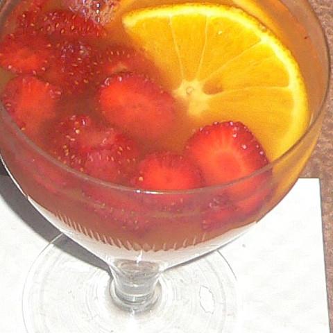 Strawberry-Lemonade Punch