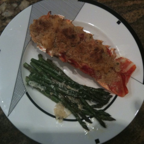 Stuffed Lobster Tails Supreme