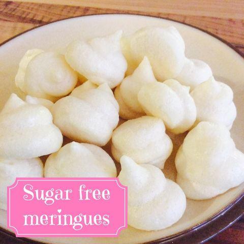 Sugar free meringues • Gestational Diabetes UK