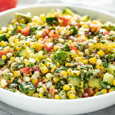 Summer Fresh Corn Salad