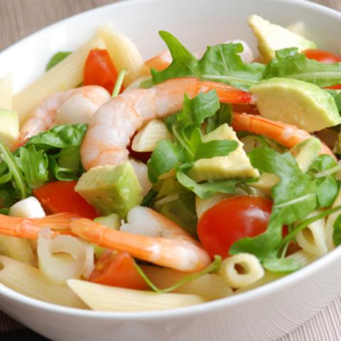 Summer Seafood Pasta Salad