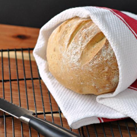 Super Easy Crusty Bread