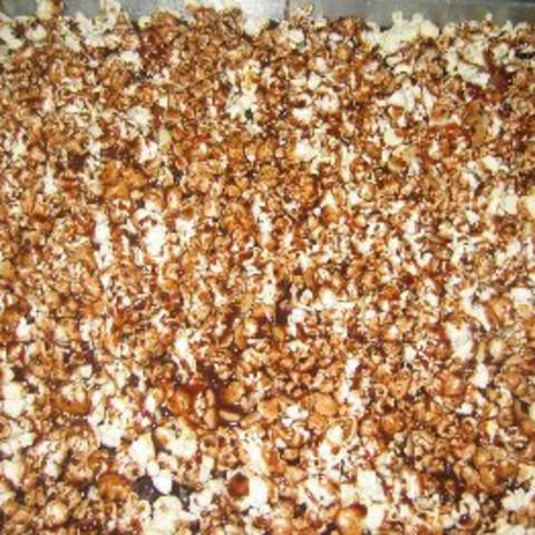 Sweet Nutty Popcorn Treats