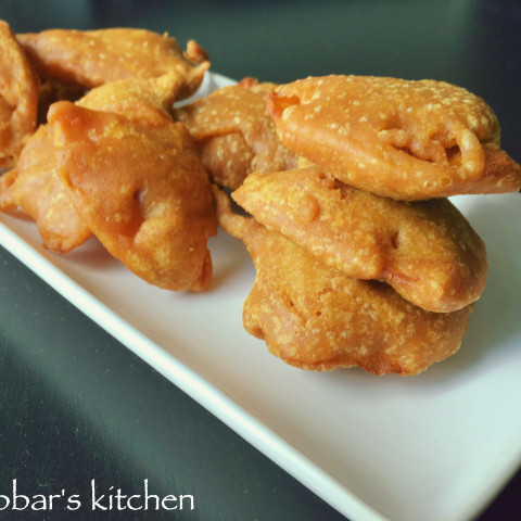 sweet potato podi | sweet potato fritters