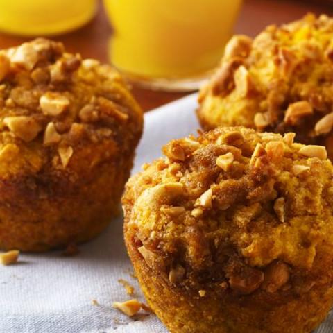 Sweet Potato Streusel Muffins