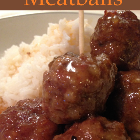 Sweet & Sour Chili Garlic Meatballs