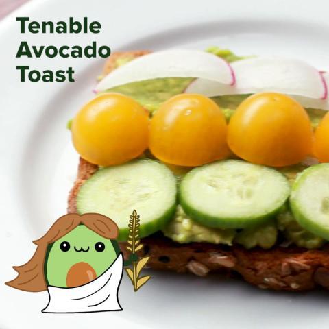 Tenable Avocado Toast (Virgo) Recipe by Tasty