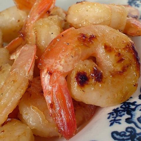 Tequila Honey Shrimp
