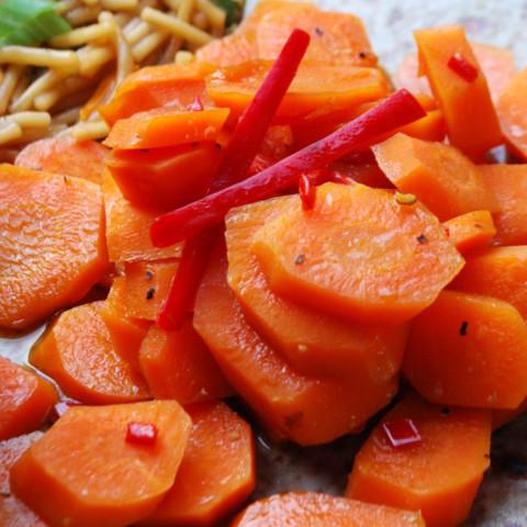 Teriyaki Carrots